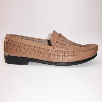 Örgü Hakiki Deri Erkek Ayakkabı