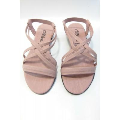Yazlık Kadın Sandalet - Vanilya Rengi